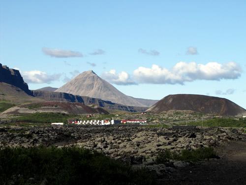 Grábrók í Norðurárdal - Vestasta eldvarpið sem tilheyris Snæfellsneskerfunum, gaus fyrir um 3600 árum.